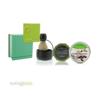 Scheerset-in-groene-doos-Feeling-Goods
