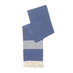 Hamamdoek bamboe - donkerblauw - Happy Towels - FeelingGoods