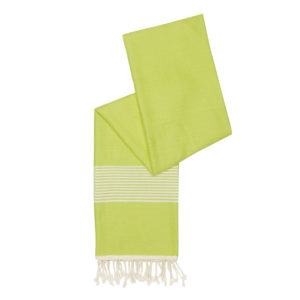 Hamamdoek -bamboe -limegroen - Happy Towels - FeelingGoods
