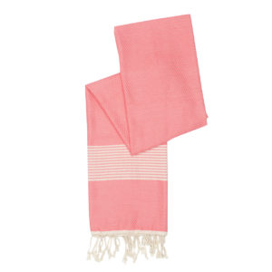 Hamamdoek bamboe - roze - Happy Towels - FeelingGoods