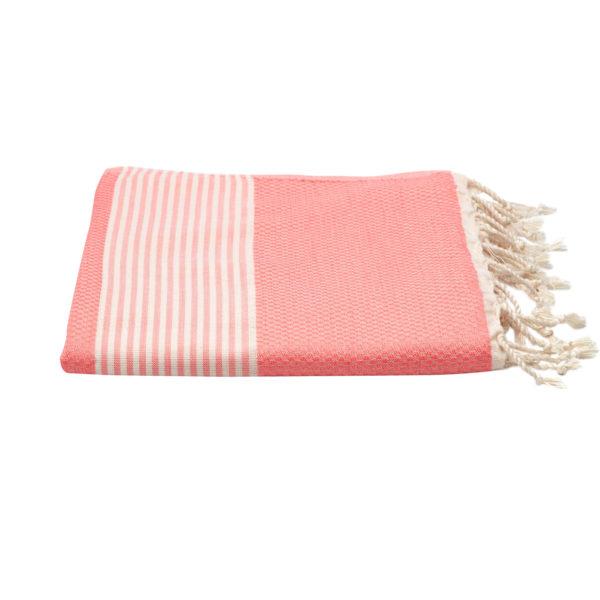 Hamamdoek bamboe - roze - Happy Towels - FeelingGoods
