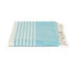 Hamamdoek biokatoen – azuurblauw – Happy Towels – FeelingGoods