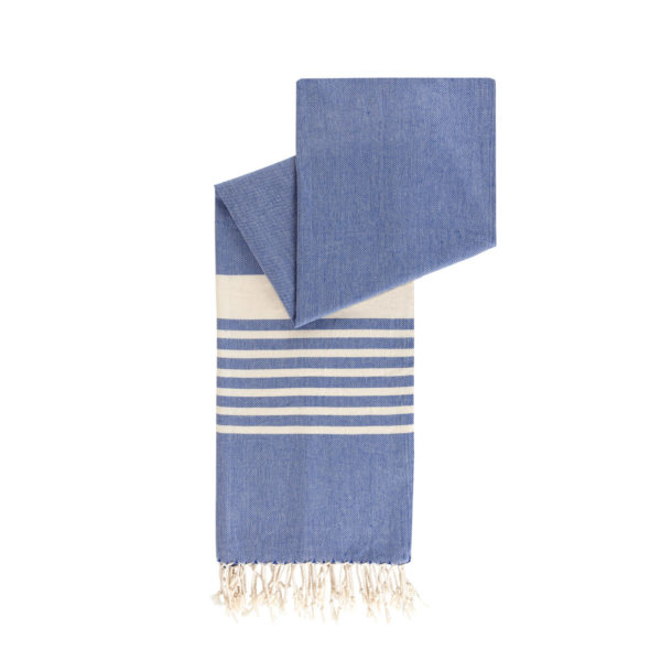 Hamamdoek biokatoen - knalblauw - Happy Towels - FeelingGoods