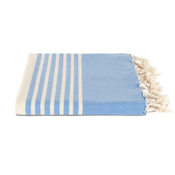 Hamamdoek biokatoen - zomer denim - Happy Towels - FeelingGoods