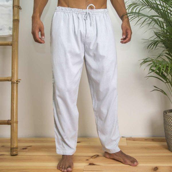 Heren Pyjama - zwarte streep - Khasto- FeelingGoods