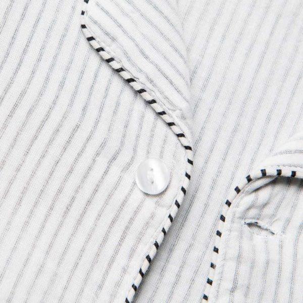 Heren Pyjama zwarte streep- Khasto- FeelingGoods