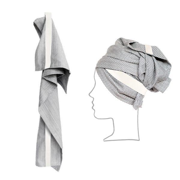 Hand&haarhanddoek-lichtgrijs-Organic Company-FeelingGoods