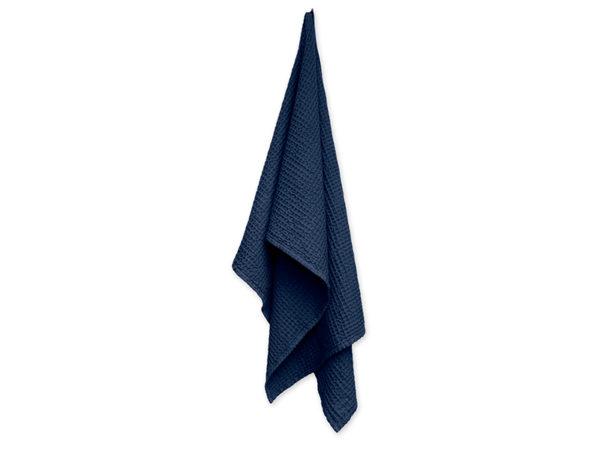 Saunahanddoek-donkerblauw-Organic Company-FeelingGoods