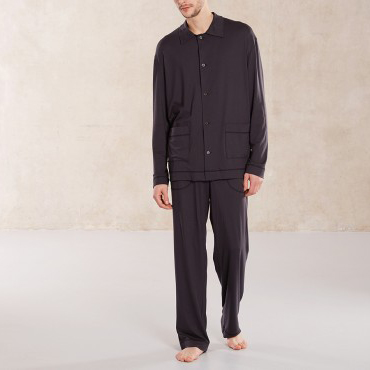 Pyjama Ingolf black- Sunday in Bed - FeelingGoods