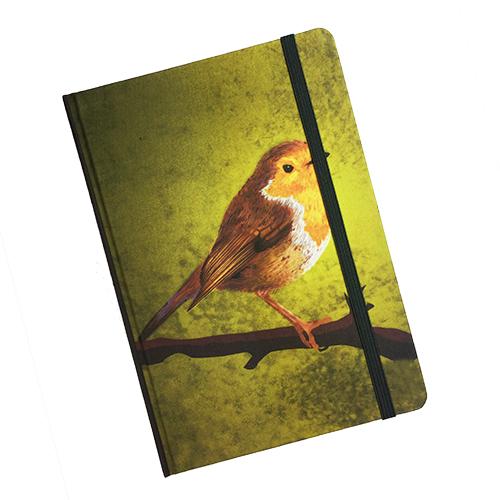 Notitieboek roodborstje Myrte-FeelingGoods