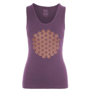 Yoga Tank Top Racerback Mandala-Jungle Orchid-FeelingGoods