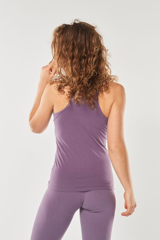 Yoga Tank Top Racerback Mandala-Jungle Orchid - FeelingGoods