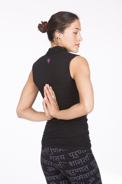 yoga top good karma urban black-FeelingGoods