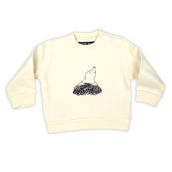 Sweater wit molletje - FeelingGoods