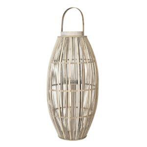 Broste-Copenhagen-hoge-lantaarn-Aleta-van-hout-en-bamboe,-77.5cm-FeelingGoods