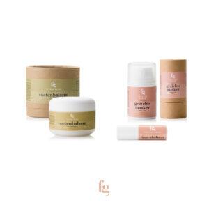 Cadeaupakket-Voetenbalsem-Gezichtsmasker-Lippenbalsem - Feeling-Goods